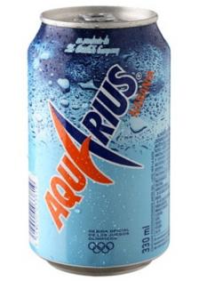 Aquarius Naranja Lata 24x33cl.