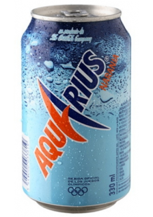 Aquarius Orange Can 24x33cl.