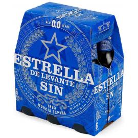 Estrella Levante Sin Alc. 0,0 Pack Bot.6x4x25cl.