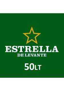 Estrella Levante Barril 50L.