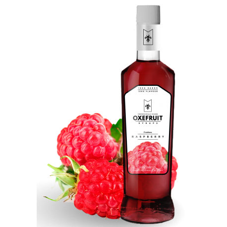 Raspberry Syrup Oxefruit 0,70L.