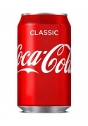 Coca Cola Can 24x33cl.