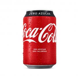 Coca Cola ZERO Lata 24x33cl.