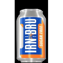 Barrs IRN BRU Sugar Free Can 24x33cl.
