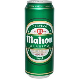 Mahou Clásica Cans 24x50cl.
