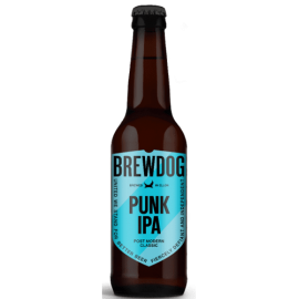 Brewdog Punk IPA 33cl. Bottle Box of 12