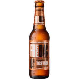 Free Damm Tostada Non-Alcoholic Lager 0,0 24x33cl Returnable