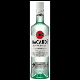 Bacardi Ron 1L. (Non-Pourer)