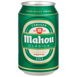 Mahou Can Clásica 24x33cl.