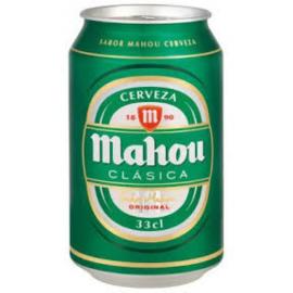 Mahou Clásica Cans 24x33cl.