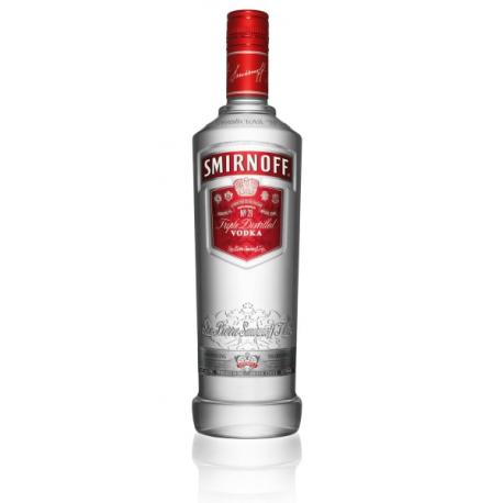 Smirnoff Red 1L. (Non-Pourer)