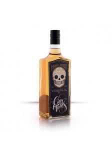 Tequila Cien Malos Dorado 70cl.