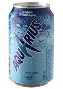 Aquarius Lemon Can 24x33cl.