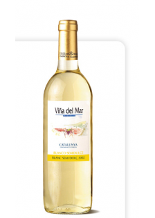 Vinya del Mar Medium Sweet White Box 6x75cl.