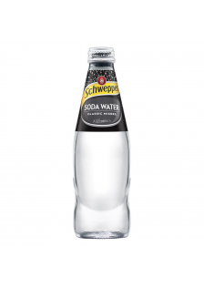 Schweppes Soda Bottle 24x25cl.