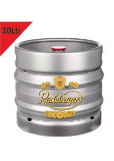 Radeberger Barrel 30 Litre.