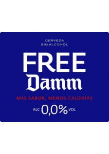 Free Damm Alcohol Free Barrel 20 Litre